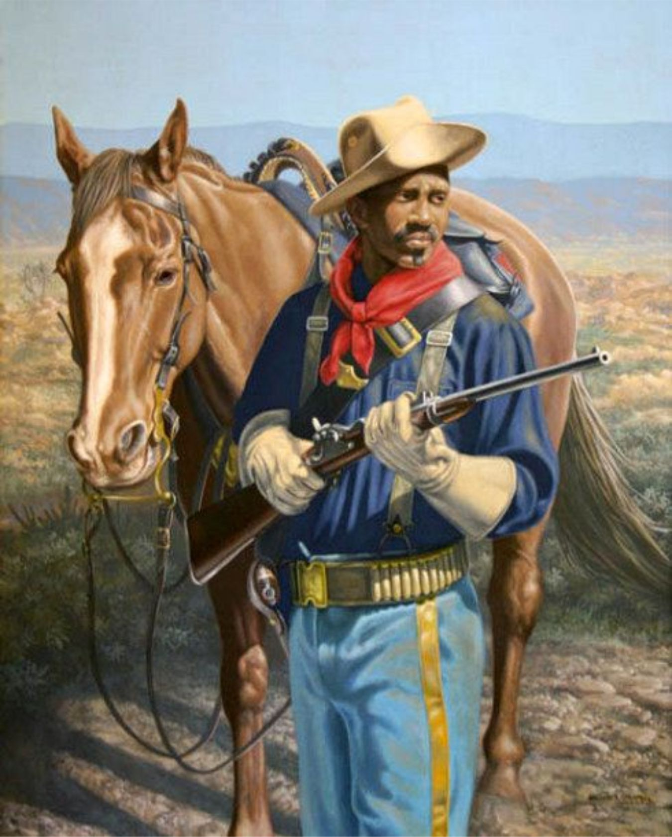 buffalo soldiers Buffalo soldiers originally were members of the 10th cavalry regiment of the  united states army, formed on september 21, 1866, at fort leavenworth, kansas.
