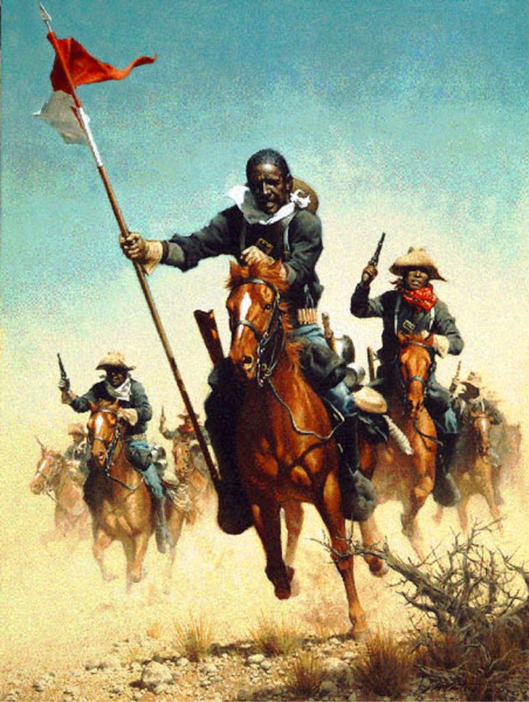 Charge of the Buffalo Soldiers - Frank C. McCarthy