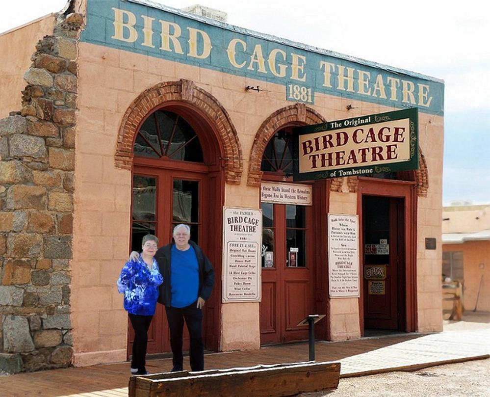 Birdcage fake