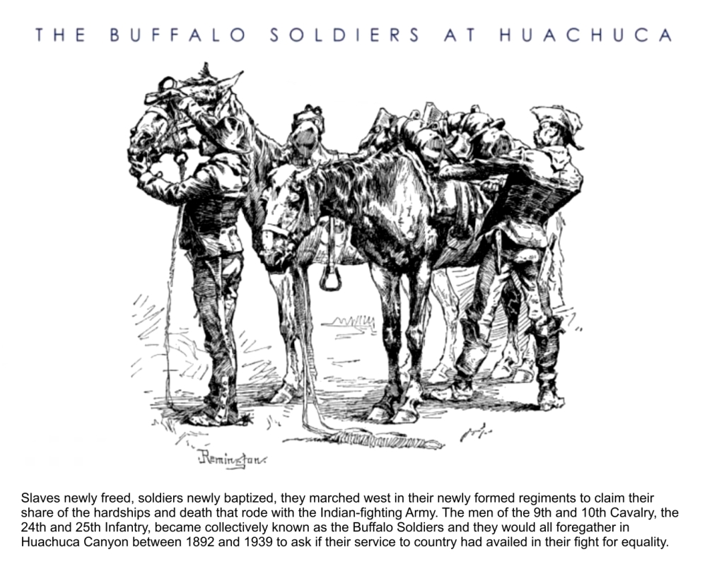 Buffalo Soldiers at Huachuca