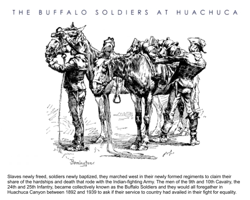 Buffalo Soldiers at Huachuca