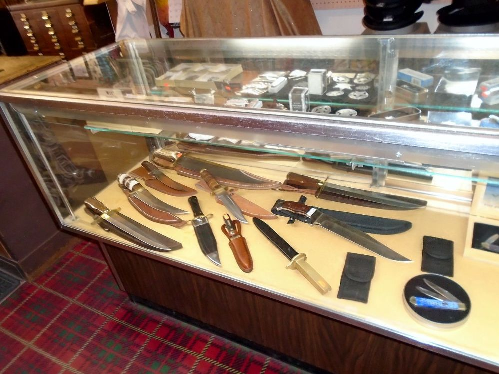 Downtown Tombstone knives