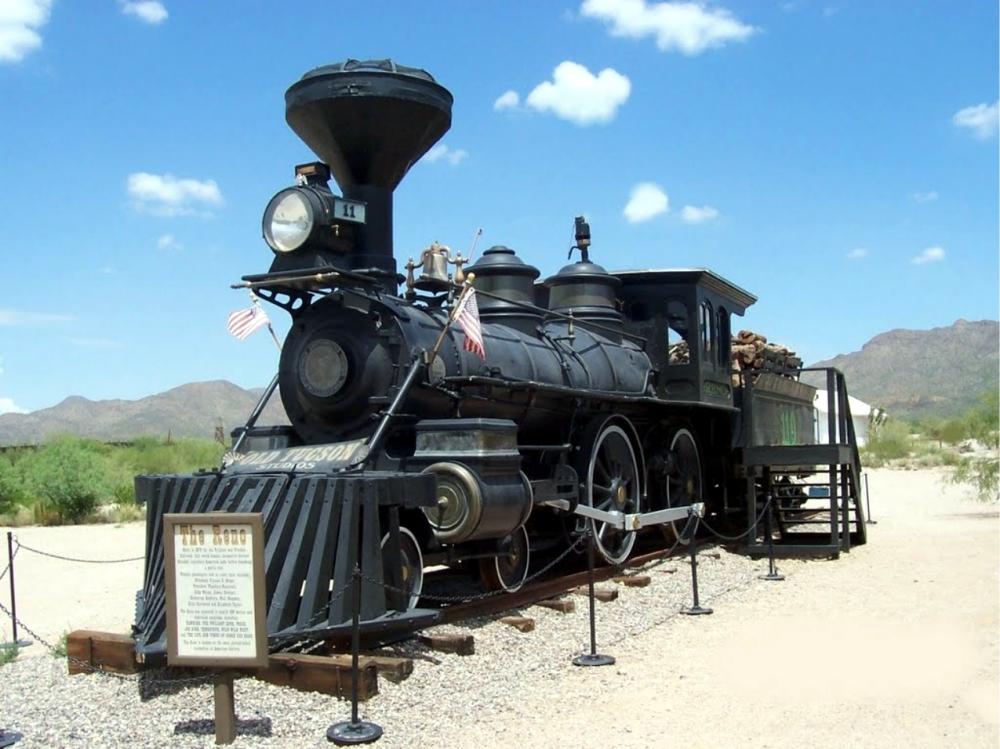 Old Tucson Studios Train