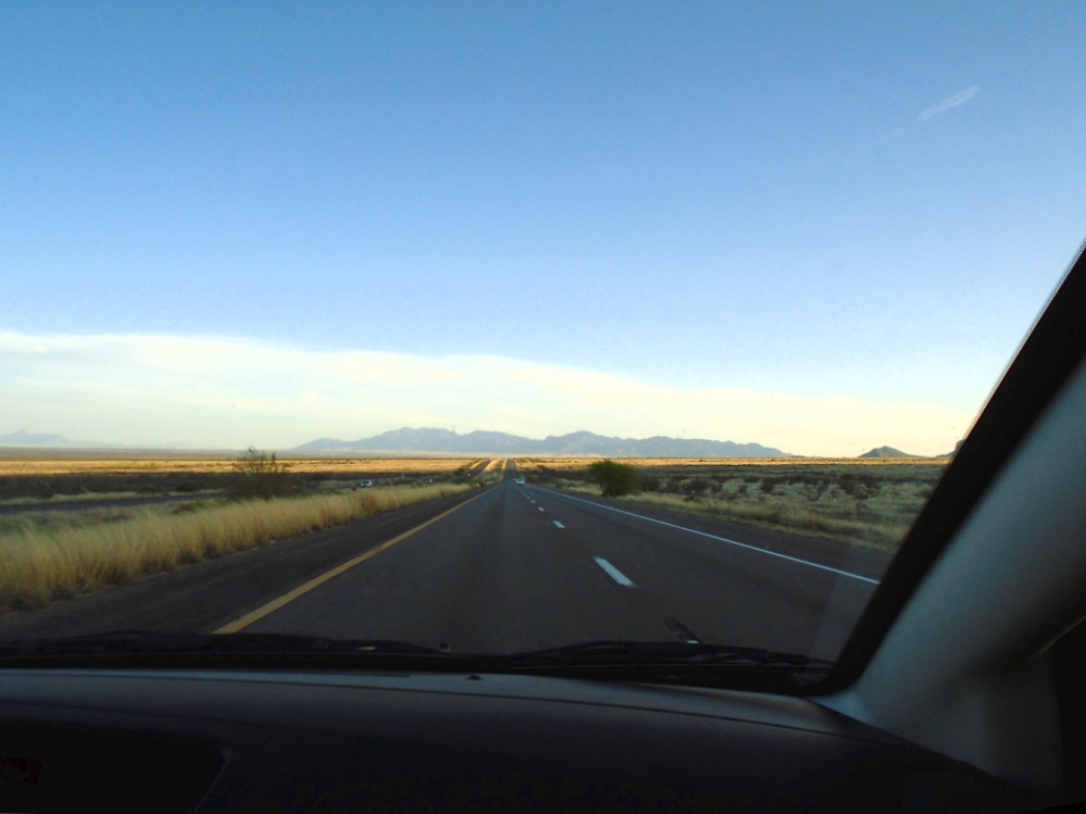 On the way to Sierra Vista