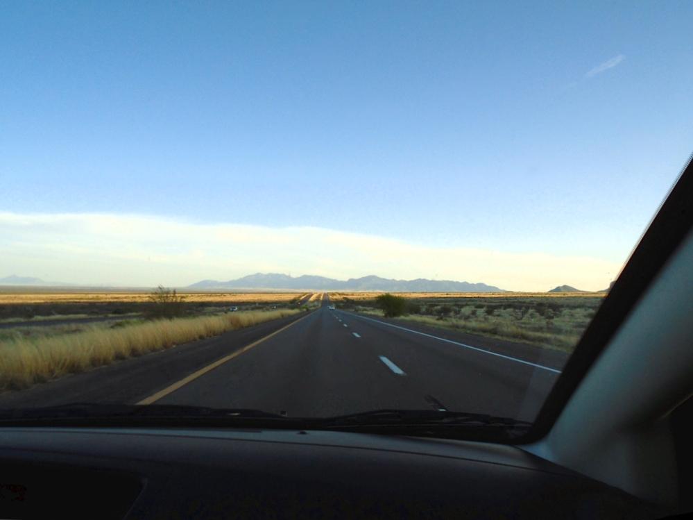 On the way to Sierra Vista