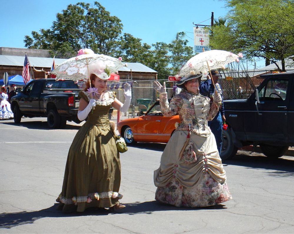 tombstone ladies parade