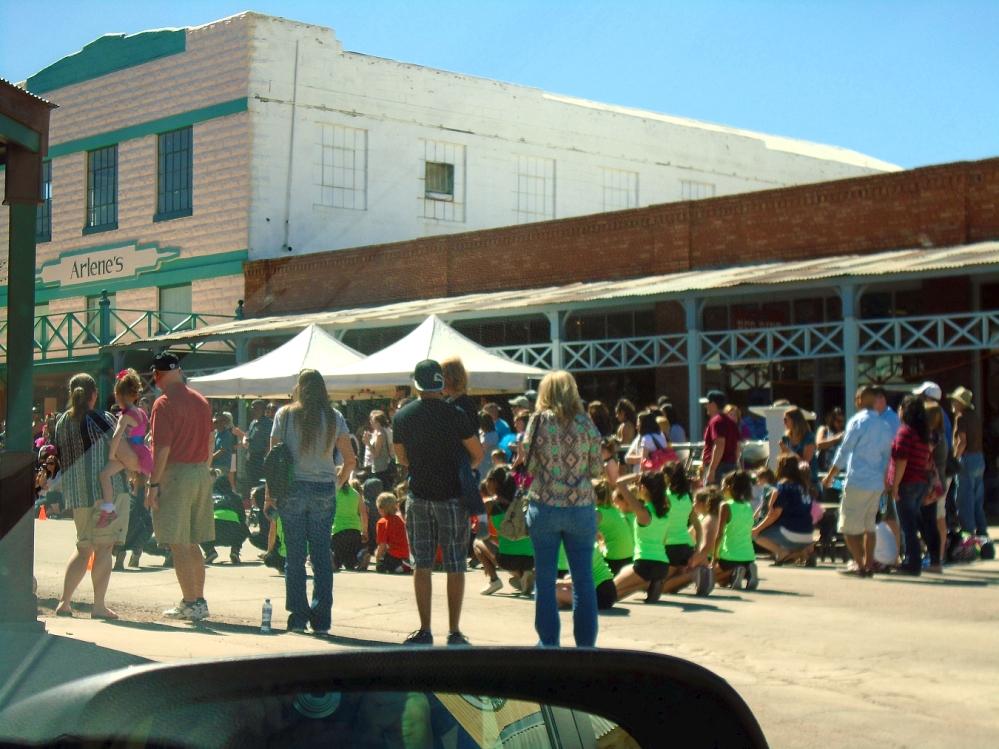 Tombstone street fair