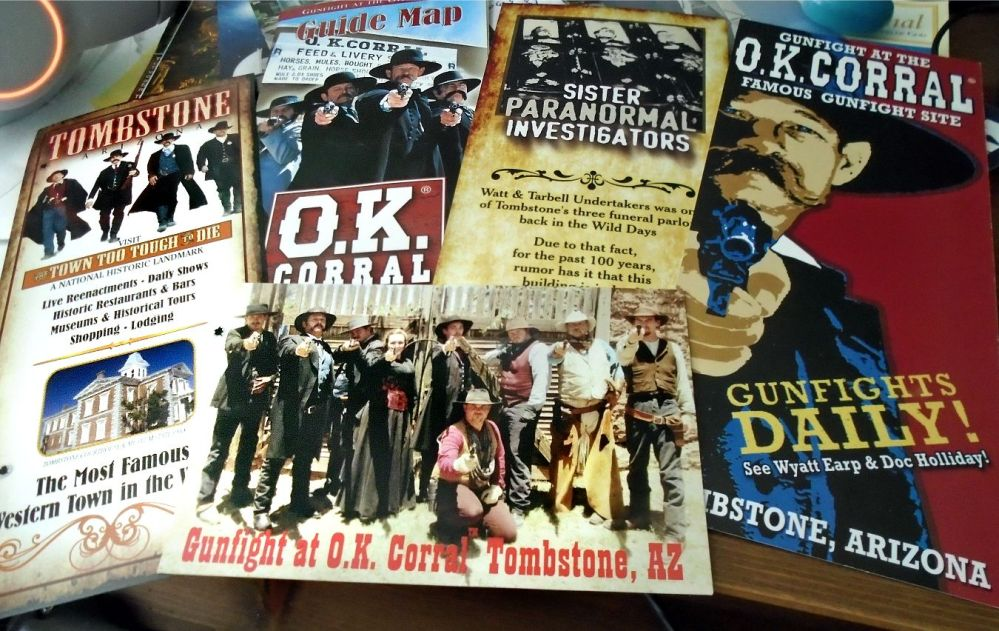 OK corral brochures