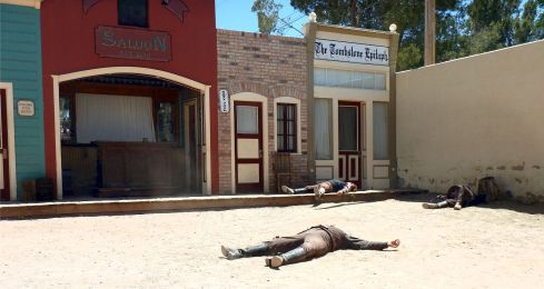 OK CORRAL REENACTMENT aftermath