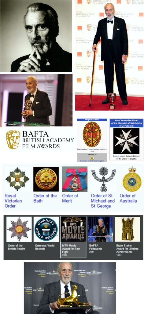 Christopher Lee Awards