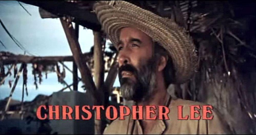 Christopher Lee in Hannie Caulder