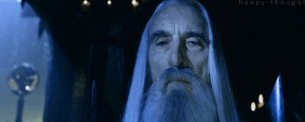 Christopher Lee LOTR 3