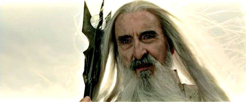 Christopher Lee LOTR
