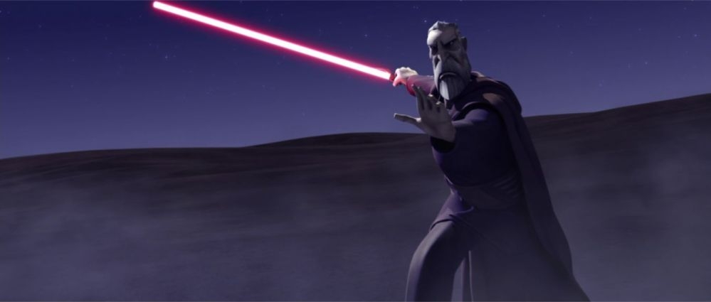 Christopher Lee Star Wars 3