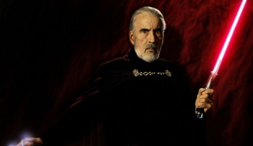 Christopher Lee Star Wars