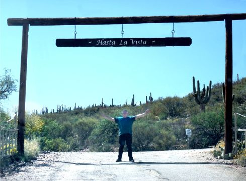 Colossal Cave Park ... leaving