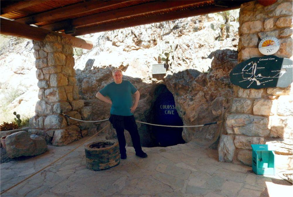 Colossal Caverns - entrance