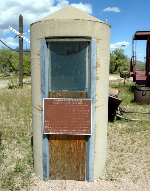 Colossal Ranch phone booth