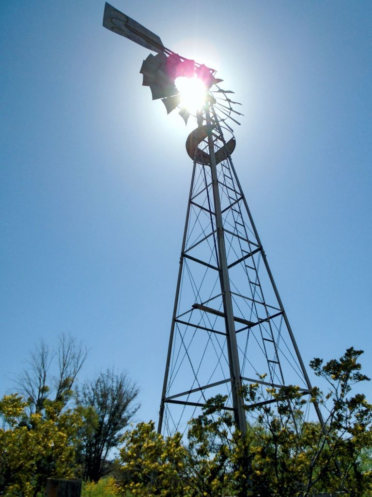 Colossal Ranch windmill