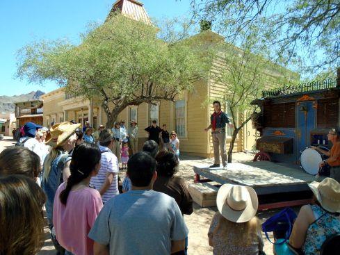 Old Tucson 2 medicine show 2