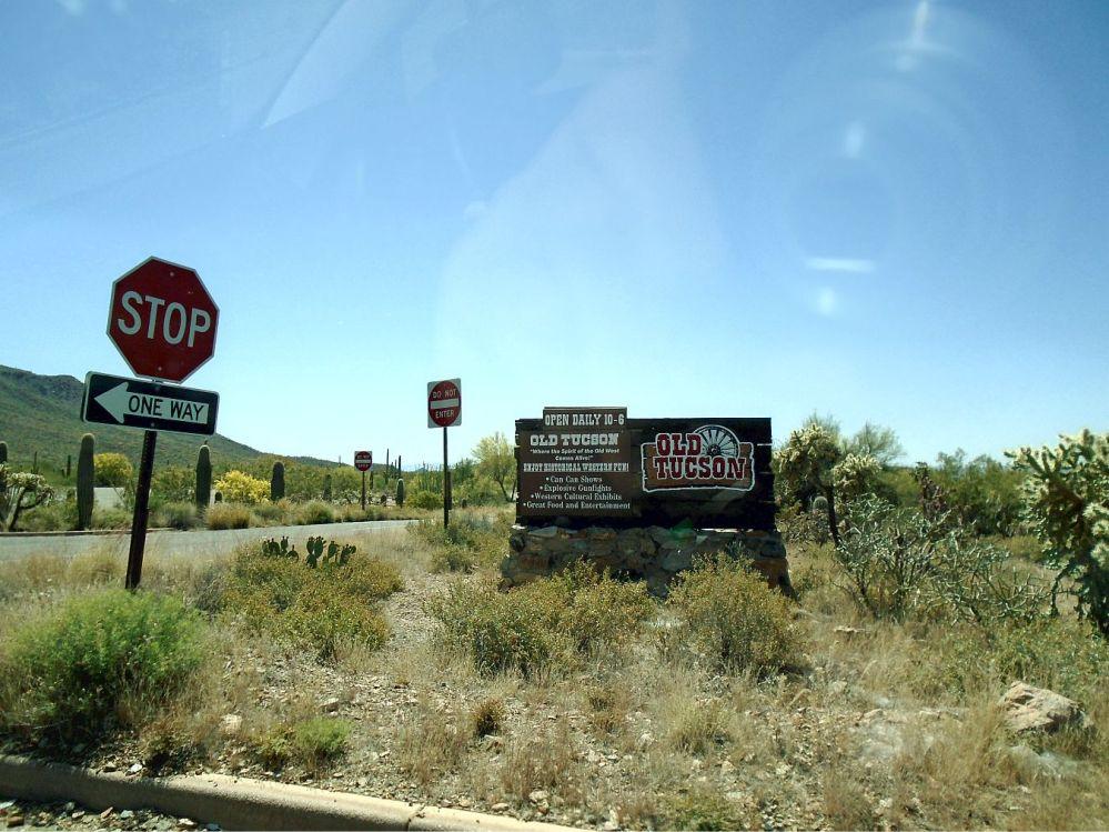 Old Tucson entering