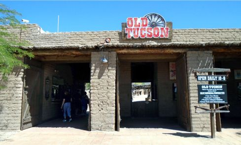 Old Tucson entrance