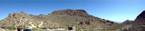 Old Tucson rest point