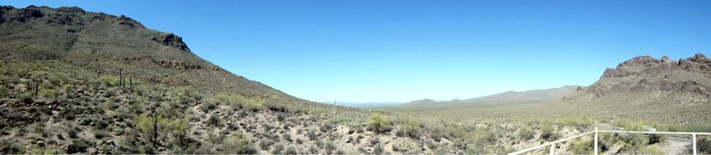 Old Tucson the view