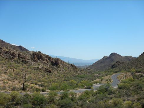 Old Tucson - Tuscon in the distance