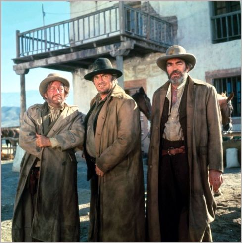 Strother Martin, Ernest Borgnine, Jack Elam