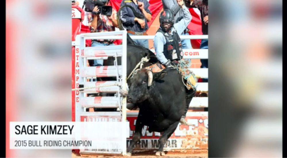 Bull Riding Sage Kimzey 2