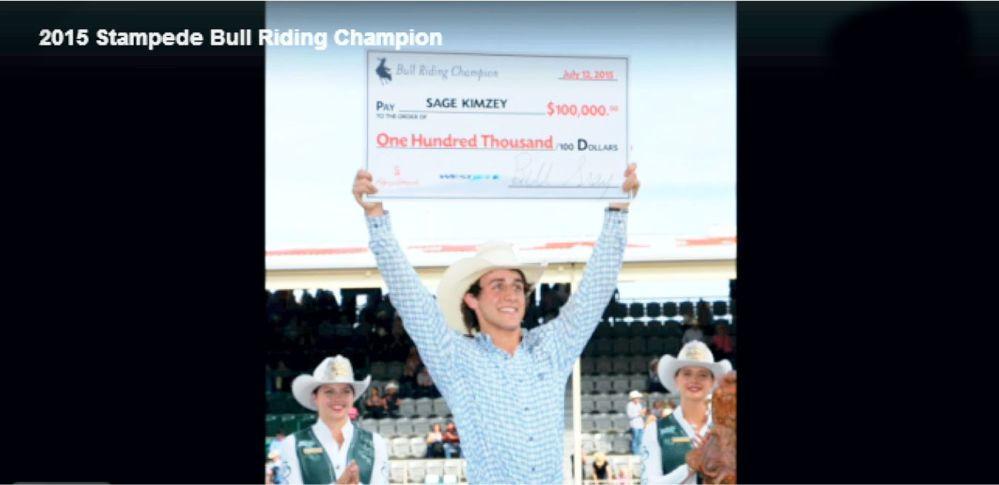Bull Riding Sage Kimzey