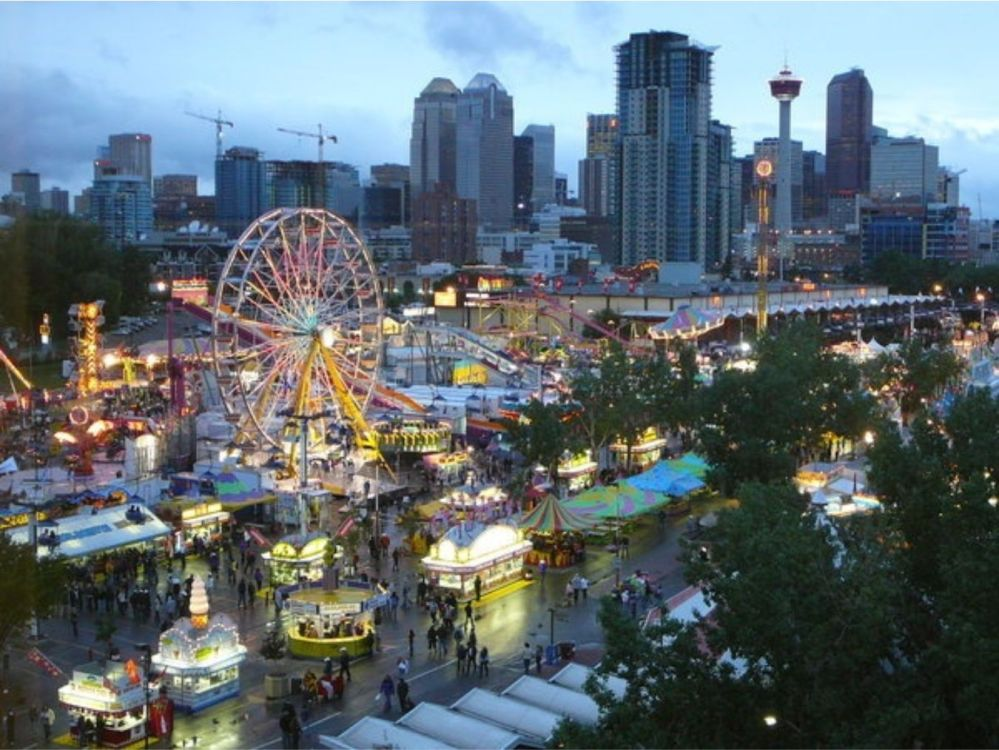 Calgary Stampede 2015 midway