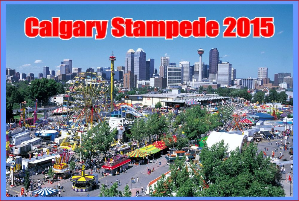 Calgary Stampede 2015 view