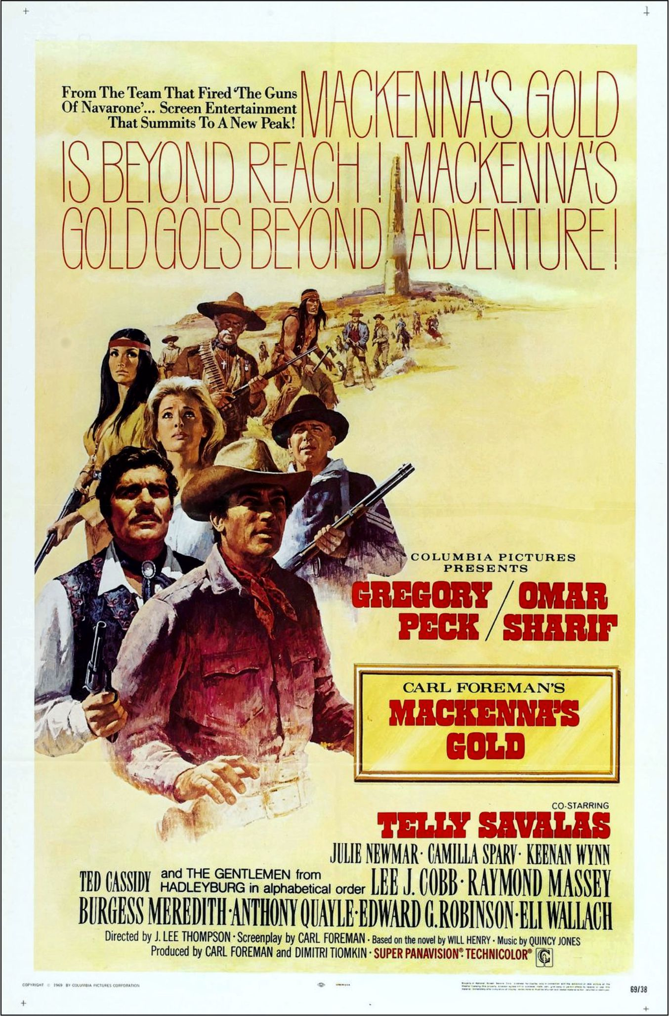 Mackenna s gold my favorite westerns for What was the name of that movie