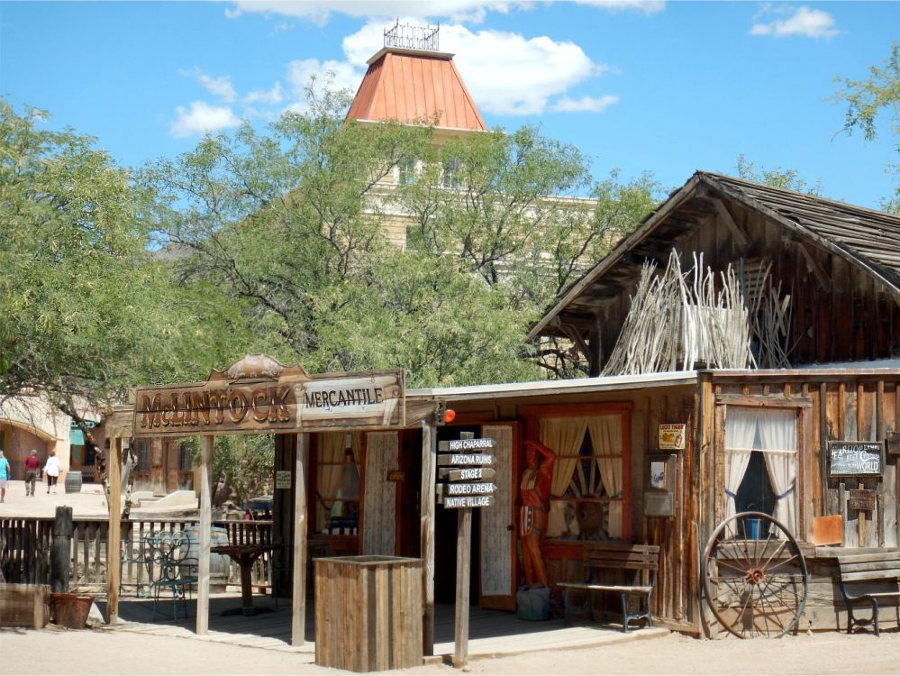 Old Tucson McClintock Mercantile