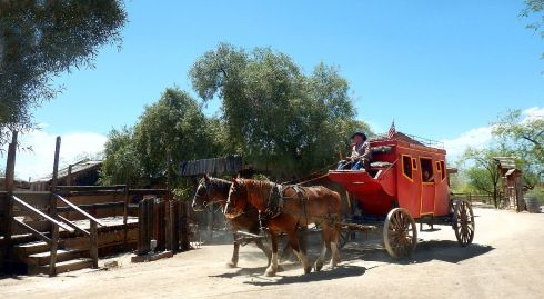 Old Tucson Stagecoach 2