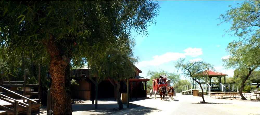 Old Tucson Stagecoach