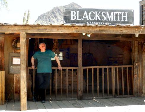 Old Tucson Studios Blacksmith