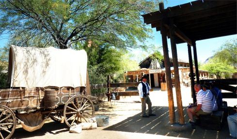Old Tucson Studios Stagecoach