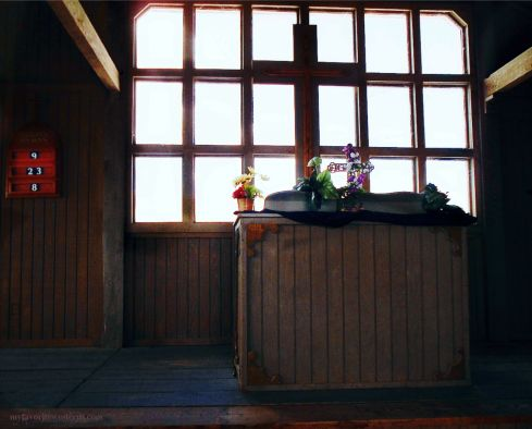 Old Tucson Studios Church Altar