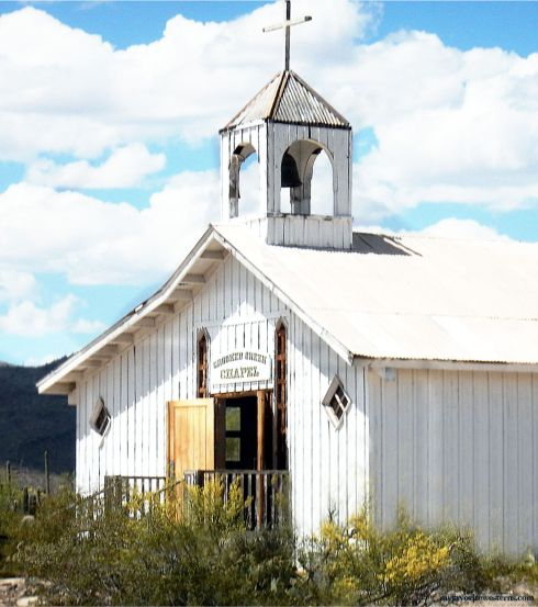 Old Tucson Studios Crooked Creek Chapel