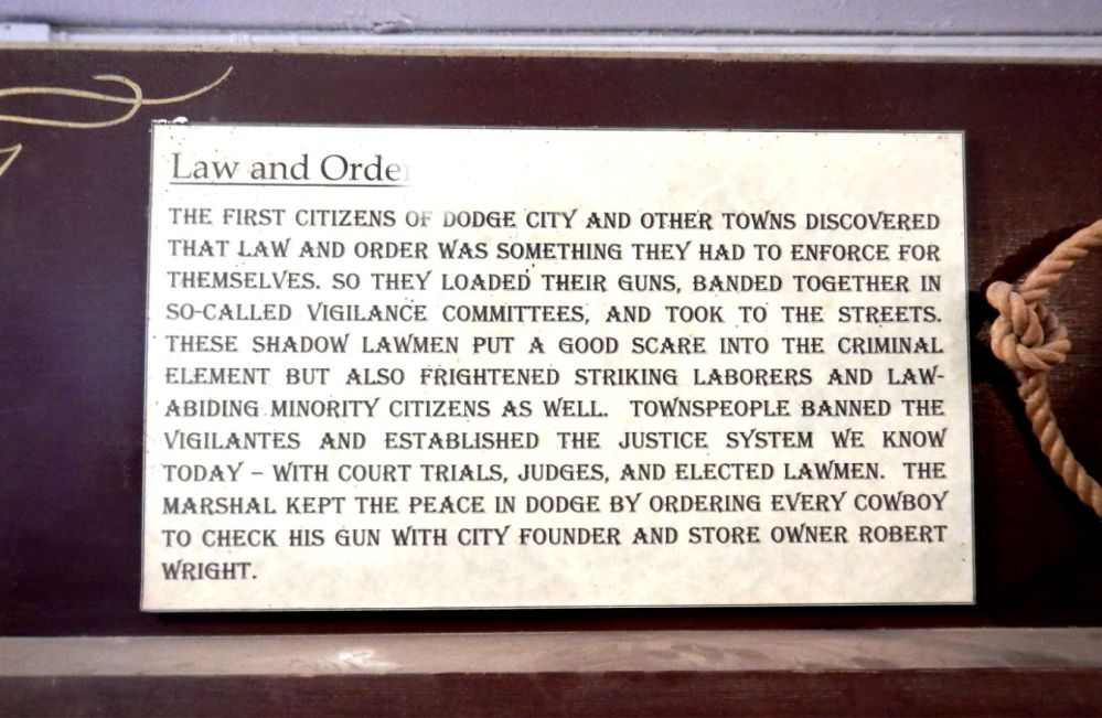 Old Tucson Studios Law and Order