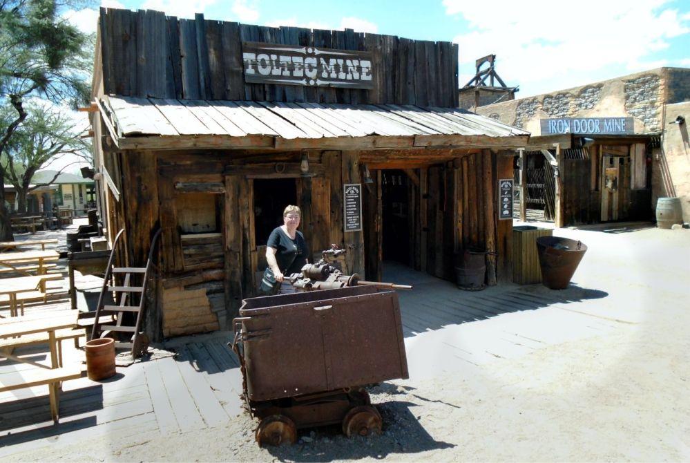 Old Tucson Studios mine