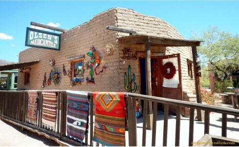 Old Tucson Studios Olsen's Mercantile