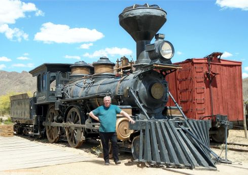 Old Tucson Studios Real Train