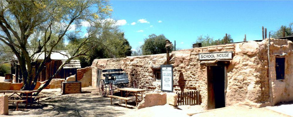 Old Tucson Studios schoolhouse