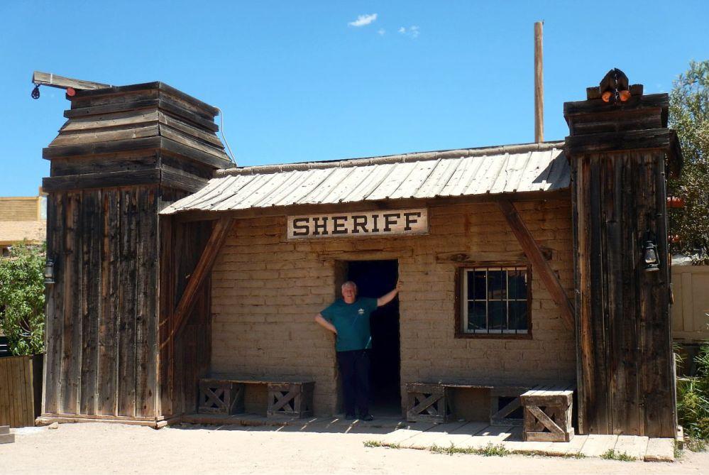 Old Tucson Studios sheriff
