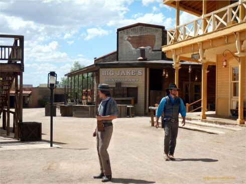 Old Tucson Studios Stunt Men
