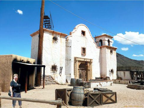 Old Tucson Studios Stunt Set